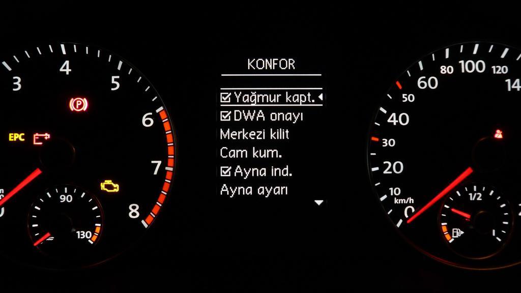 Wolkswagen 2005-2011 Yol Bilgisayarı Menü Kullanımı